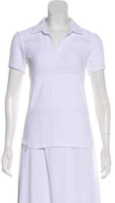 L'Etoile Sport Short Sleeve Polo Top