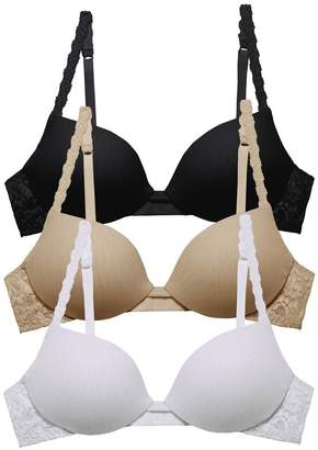 Cosabella Never Say Never Beautie Push Up Bra Basic Pack