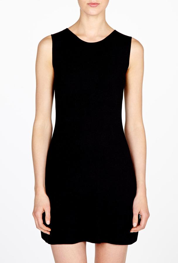 Theyskens' Theory Yat Karpasa Fitted A-line Dress