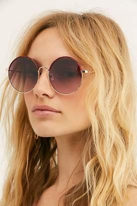 Free People Isla Round Sunglasses
