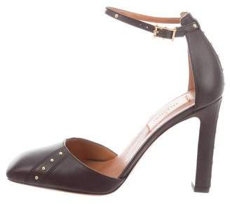 Valentino Studded Leather Pumps w/ Tags
