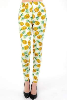 New Mix Tropical Pineapple Legging