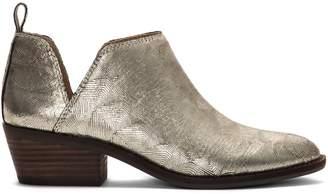 Lucky Brand Fayth 2 Metallic Leather Booties