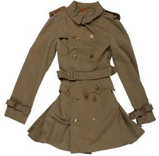 Jean Paul Gaultier Knee-Length Trench Coat