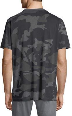 Wesc Men's Maxwell Cotton Jersey Camo T-Shirt