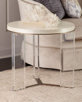 At Horchow · Ambella Malone Acrylic Leg Side Table