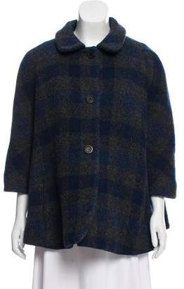 Opening Ceremony Wool-Blend Short Coat
