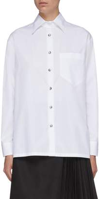Prada Patch pocket shirt