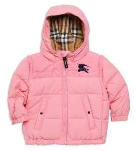 Burberry Baby Girl's& Little Girl's Mini Ezra Puffer Jacket
