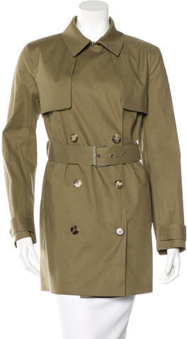 CelineCéline Double-Breasted Trench Coat