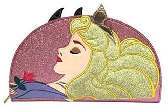 Danielle Nicole FAB Starpoint Disney Sleeping Beauty & Maleficent 2 Sided Clutch