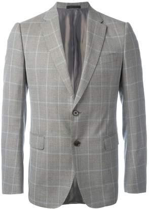 Armani Collezioni plaid blazer