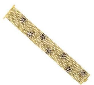 Amrapali Diamond Woven Link Bracelet