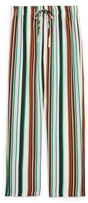 Topshop Stripe Slouch Pants