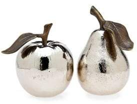Godinger Apple Pear Salt and Pepper Set