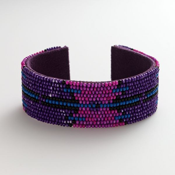 Axcess Beaded Cuff Bracelet