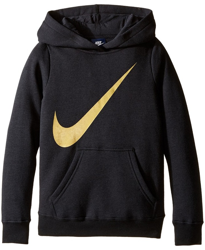 Nike Kids NSW Hoodie Over the Head Graphic (Little Kids/Big Kids)