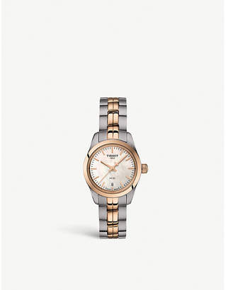 Tissot T1010102211101 stainless steel and gold PVD watch