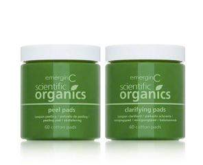 EmerginC Scientific Organics At-Home Peel and Clarifying Kit