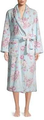 Miss Elaine Floral Robe