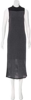 Rag & Bone Pattern Knit Midi Dress