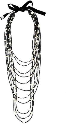 Maria Calderara layered beaded necklace