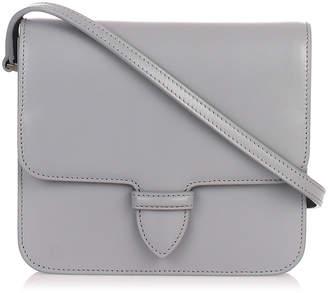 Alaia Grey small satchel
