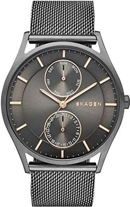 Skagen Swatch SKW6180 40mm Steel Bracelet & Case Mineral Men's Watch