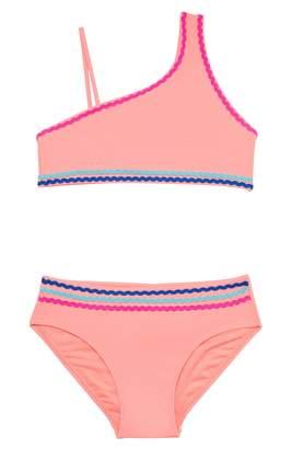 Gossip Girl Malibu Stripe Two-Piece Swimsuit