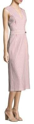 Jason Wu Striped Cotton Dress