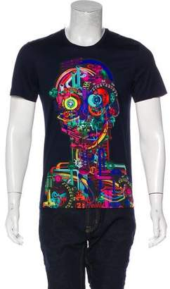 Juun.J Graphic Crew Neck T-Shirt