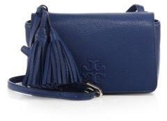 Tory Burch Thea Mini Leather Tassel Crossbody Bag $395 thestylecure.com
