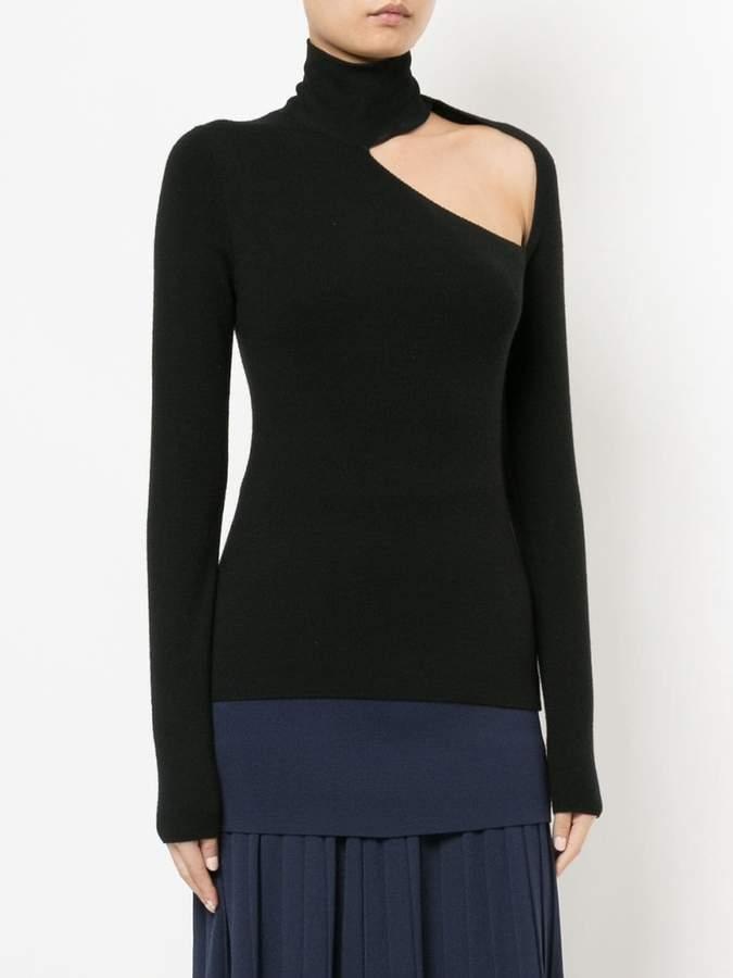 Dion Lee spiral sleeve skivvy sweater