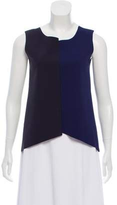 Emporio Armani Colorblock Sleeveless Top