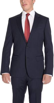 HUGO BOSS The Suit Depot The Grand/Central Classic Fit Navy Pinstriped Two Button Wool Suit