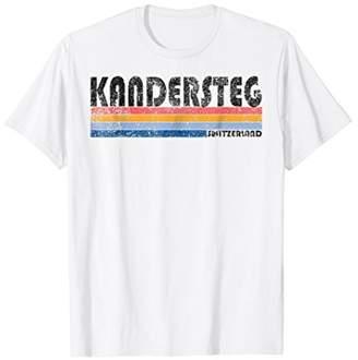 Vintage 1980s Style Kandersteg Switzerland T-Shirt
