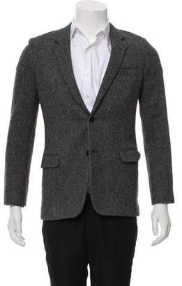 Saint Laurent Wool Two-Button Blazer