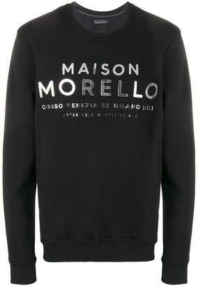 Frankie Morello Colbert sweatshirt