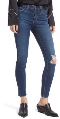 AG Jeans The Legging Ripped Ankle Skinny Jeans