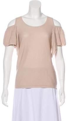 Chloé Cashmere and Silk Blend T-Shirt