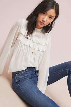 Velvet by Graham & Spencer Jolie Ruffled Blouse