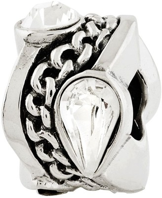 Swarovski Prerogatives Sterling Crystal with Chain Design Bead