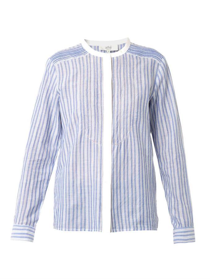 Vanessa Bruno Belina striped shirt
