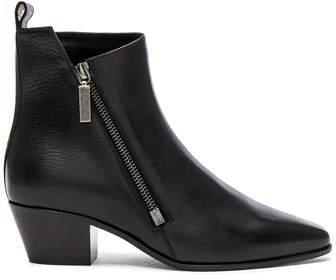 Saint Laurent Leather Rock Zip Boots