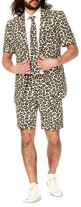 Men's Opposuits 'The Jag - Summer' Trim Fit Two-Piece Short Suit With Tie $99.99 thestylecure.com