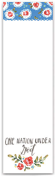 'One Nation' Notepad