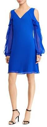 Ralph Lauren Cold-Shoulder Dress