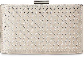 Jessica McClintock Tammy Rhinestone Framed Convertible Clutch