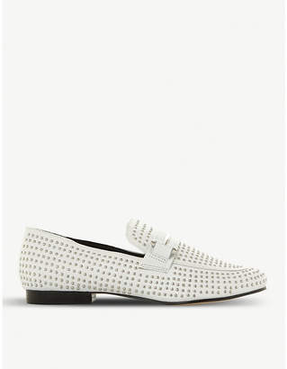 Steve Madden Kast studded leather loafers