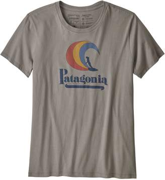 Patagonia Women's On Rail Organic Cotton Crew T-Shirt